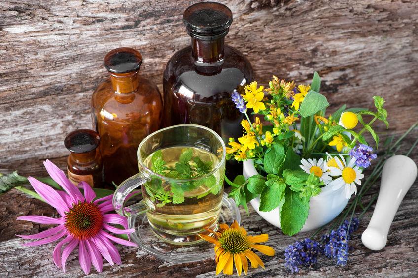 naturopathic medicine bottles